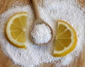 Лимонна кислота: застосування і корисні властивості фото