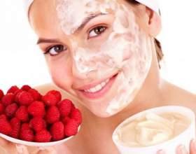 Кращі рецепти масок для обличчя з малини фото