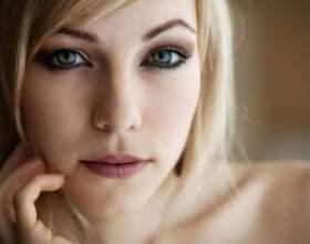 Макіяж для блондинок з зеленими очима. Природний макіяж для зелених очей фото