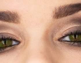 Макіяж для брюнеток з зеленими очима. Гарний макіяж для зелених очей: варіанти фото