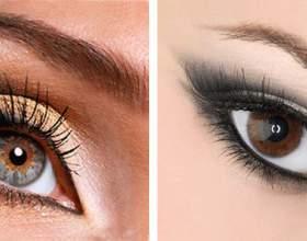 Макіяж на кожен день для карих очей. Які тіні вибрати для карих очей? фото