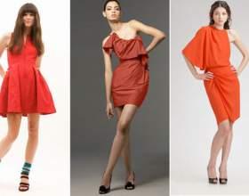 Маленьке червоне плаття - модний хіт весни 2017 фото