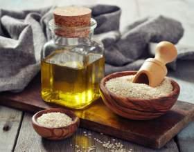 Олія кунжутна: користь і шкода. Як приймати сезамову масло? фото
