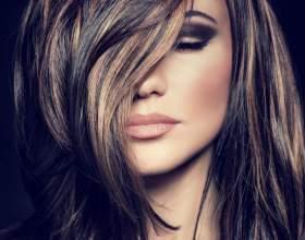 Мелірування на чорне волосся: проведення процедури фарбування та відгуки жінок фото