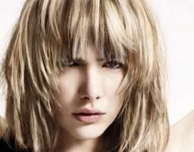 Мелірування на волоссі з чубчиком: основні способи фарбування і поради стилістів фото