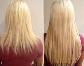 Методи нарощування волосся фото