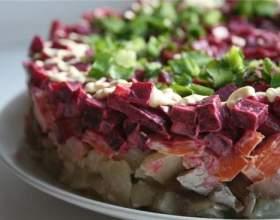 Багатошарові салати фото