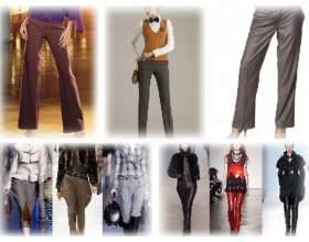 Модні жіночі брюки зима 2017-2012 фото