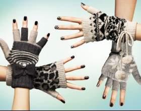 Модні жіночі рукавички зима 2017 - 2017 фото