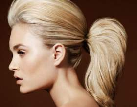Начісування на довге волосся фото