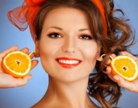 Відбілювання шкіри обличчя апельсиновою шкіркою фото