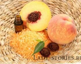 Персикове масло для шкіри обличчя і тіла фото