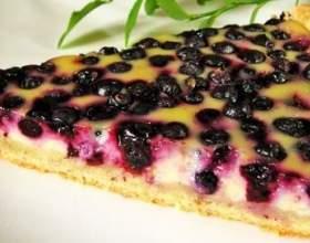Пиріг з чорницею замороженої. 5 рецептів чорничних пирогів фото