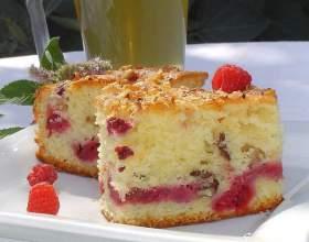 Пиріг з малиною в мультиварці: рецепти. Як приготувати пиріг з малиною і сиром? фото