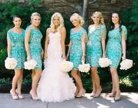 Плаття для свідків на весілля фото
