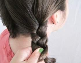Плетіння волосся на довге волосся покроково фото
