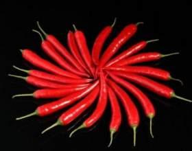 Корисні властивості червоного перцю фото