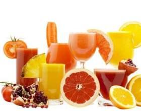 Корисні властивості соків фото
