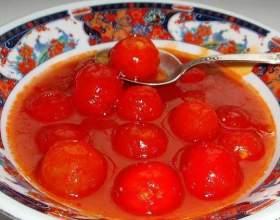 Помідори в томатному соку на зиму фото