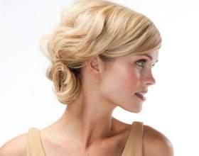 Святкові зачіски на середні волосся. Проста і ефектна укладка волосся середньої довжини фото