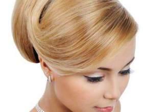 Зачіски з валиком для волосся - послідовне виконання фото
