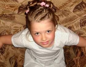 Зачіски на довге волосся для дівчаток. Зачіски на основі коси фото