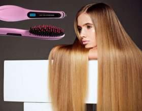 Гребінець випрямляч fast hair - запорука рівних і здорових пасом фото