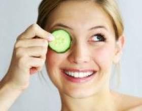 Рецепти огіркової маски проти прищів фото