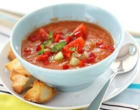 Рецепти томатних супів фото