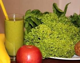 Рецепти зелених коктейлів для очищення і краси фото