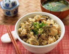 Рис з морепродуктами фото
