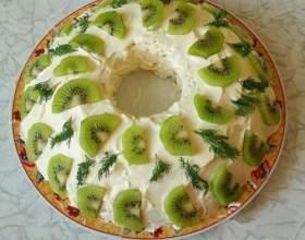 Салат нефритовий браслет: рецепт фото