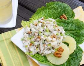 Салат з курячою грудкою і ананасом: рецепти з додаванням сиру і інші фото