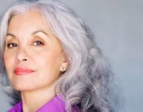 Срібло волосся: вибирайте шампунь від або для сивини фото