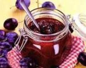 Сливове варення: рецепти фото