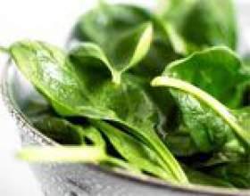 Сік шпинату: склад, властивості і користь соку шпинату фото