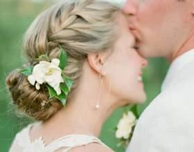 Сучасна весільна зачіска: чотири головні акценти фото