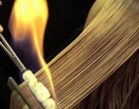 Стрижка вогнем: як це робиться? фото