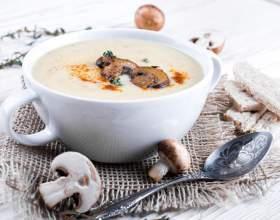 Суп-пюре з печериць: кращі рецепти фото