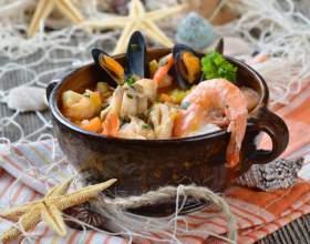 Суп з креветками: рецепти фото