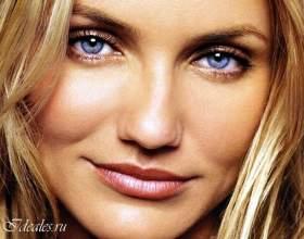 Тіні для блакитних очей і русявого волосся фото