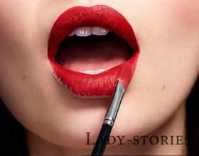 Тонкощі макіяжу - як ефектно нафарбувати губи фото