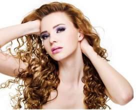 Догляд за кучерявим волоссям фото