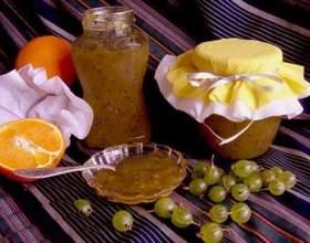 Варення з агрусу з апельсином фото