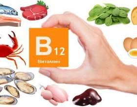 Вітамін б12 - в яких продуктах міститься фото