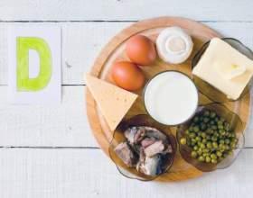 Вітамін д - в яких продуктах міститься + таблиця фото