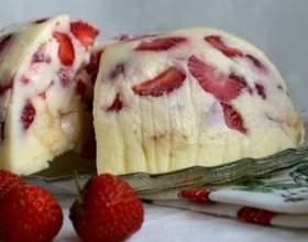 Смачні і малокалорійні торти без випічки з фруктами і желатином фото
