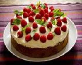 Смачний торт на день народження: рецепти з фото фото