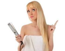 Випрямити волосся без прасування фото