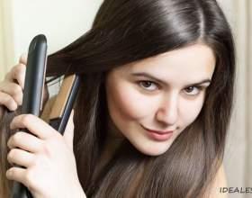 Випрямлення волосся надовго в домашніх умовах фото